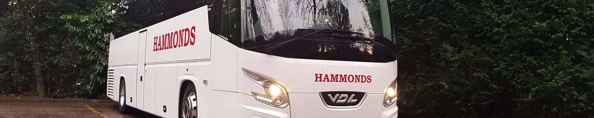 Contact Hammonds Coaches Ltd